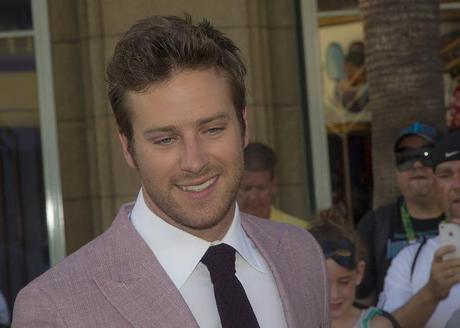 Armie Hammer-Lone Ranger Movie Premier