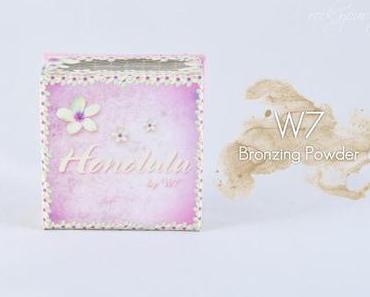 [Review] W7 - Bronzing Powder - Honululu