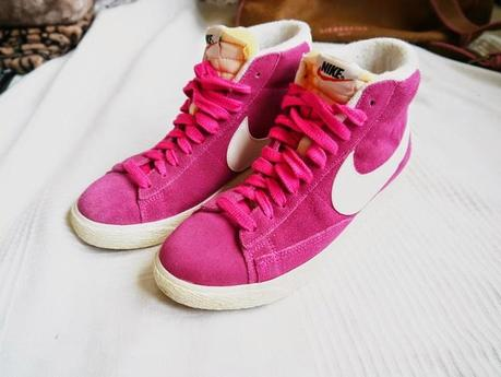 New in: Nike Blazer Mid Pink