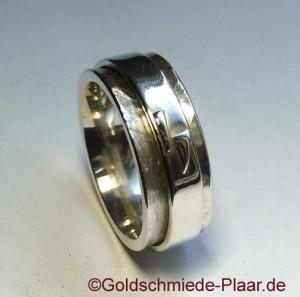 Roll-Ring mit Symbol