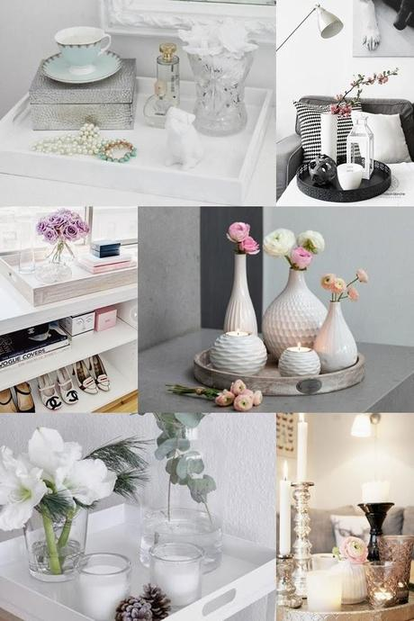 Home Inspiration :: Tray Decoration