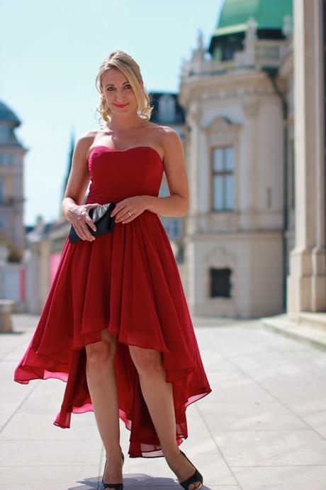 Maid of honor - Zalando kleid rot ...