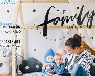 Ganz viele Inspirationen für hübsche Kinderzimmer aus dem aktuellen adore Home Magazin