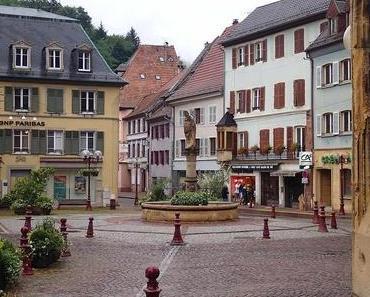 Auf dem Jakobsweg Richtung Burgund