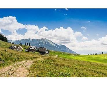 Hinteralm (1450 m) über Roßwiese – Wanderung ab Frein