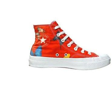 #Converse Chucks 119792 Rot Butterfly Red Edition by Damien Hirst 70s