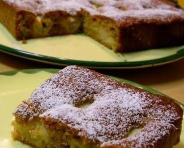 Apfelkuchen, einfach, schnell und lecker