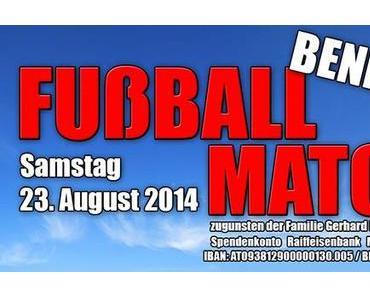 Benefiz-Fußball zugunsten der Fam. Gerhard Kleinhofer jun.