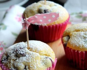 Buttermilch-Heidelbeer-Muffins