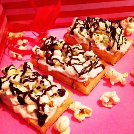 Popcorn Kuchen