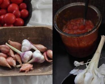 Eingekochte Rosmarin & Thymian Tomatensoße + Mallorca Inspiration