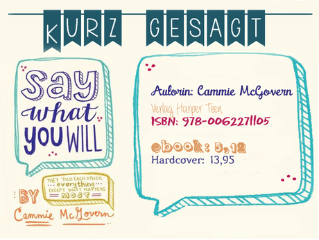 ¡Kurz gesagt...!: Say what you will