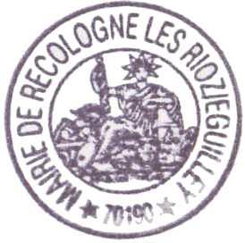 Pilgerstempel in Recologne