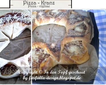 In den Topf geschaut * Pizza - Kranz... Pizza - Vijenac