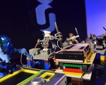 LEGO-Roboter-Band spielt Depeche Mode (Video)