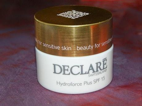 [Review] Declaré Hydroforce Plus SPF 15