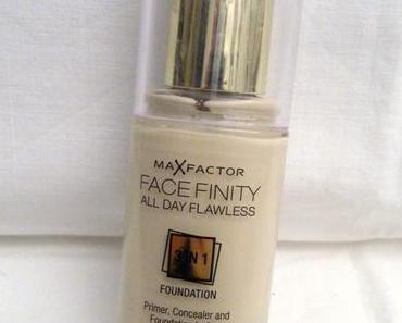 27.08.14 - [Review] MaxFactor Facefinity All Day Flawless Foundation No. 40 Light Ivory