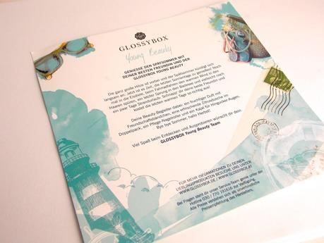 [Unboxing] Glossybox Young Beauty August 2014