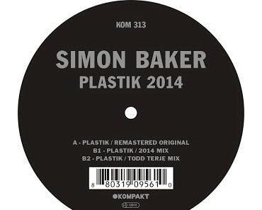 Release-Empfehlung: Simon Baker - Plastik 2014  KOM313