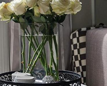 Für dich soll's weiße Rosen regnen ...