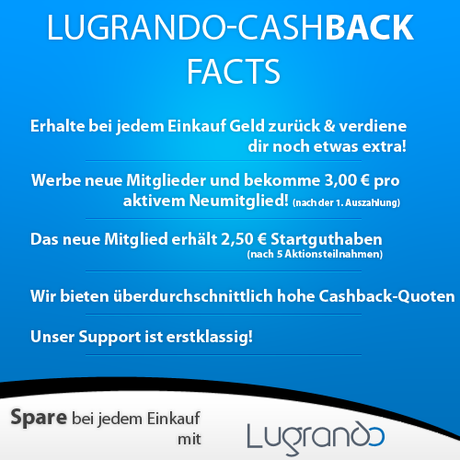 Lugrando - Shopping und Cashback