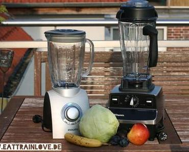 Mixer im Test: Philips HR 2095 / 90 versus Vitamix Pro 500