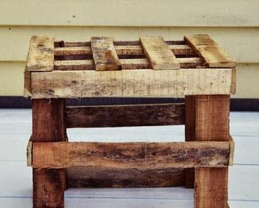 DIY Tisch aus Verpackungsmaterial - Upcycling!