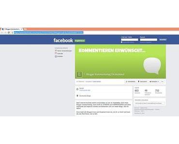 1. Blogger Kommentiertag Deutschland