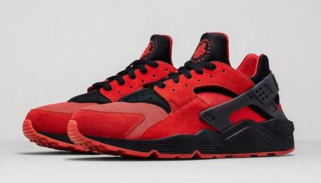 Nike Air Huarache Rot Damen