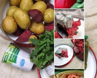 Kartoffel - Rote  - Beete Stampf...