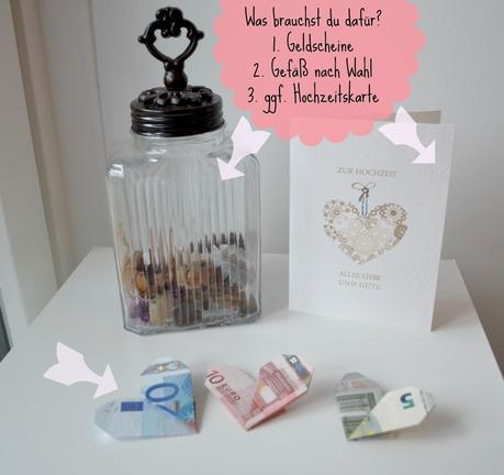 Diy Geldgeschenk Hochzeit