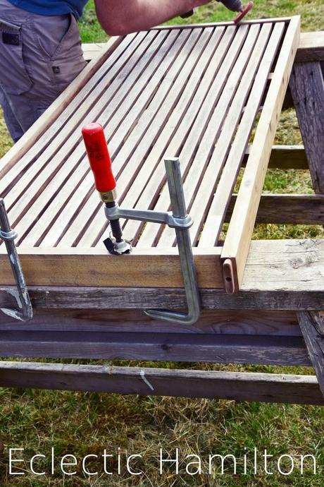diy passende bank zur neuen terrasse upcycling. Black Bedroom Furniture Sets. Home Design Ideas