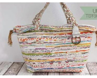 Upcycling Teppich-Tasche