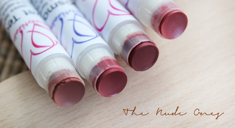 MAC Lipstick Samples | The Nude Ones