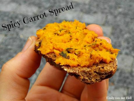 [Food] Spicy Carrot Spread