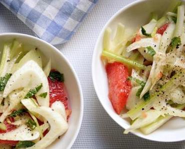 Fenchel-Salat mit Grapefruit und Sellerie
