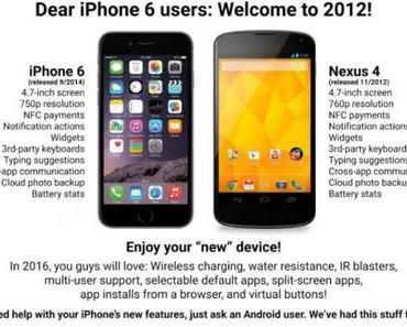 iOS gegen Android: Anleitung zum Wechseln und Rache der Apple User