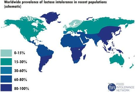 worldwide-prevalence-of-lactose-intolerance