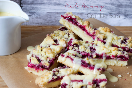 Food: Red Berry Crumble Bars