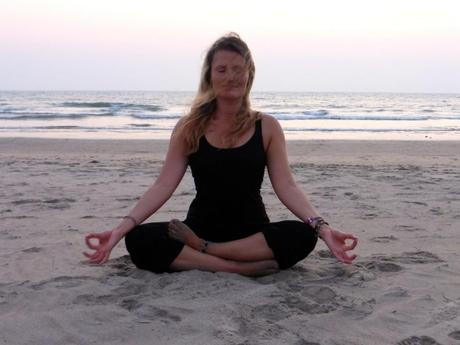 yoga in goa indien