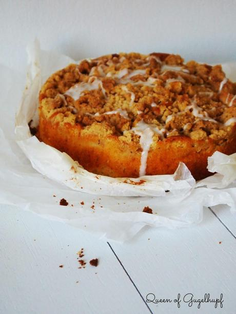 Apple Streusel Cake, simple but so delicious