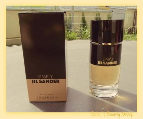 simply by jil sander duft review. Black Bedroom Furniture Sets. Home Design Ideas