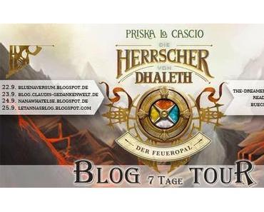 Blogtour: Die Herrscher von Dhalet - Der Feueropal