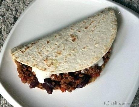 [Food] Tortillas Chili con Carne Style