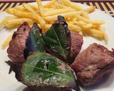 Espetada Madeirense – Fleischspieß auf Madeira-Art