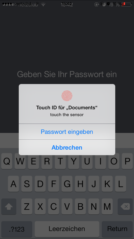 Documents 5.2 Touch ID