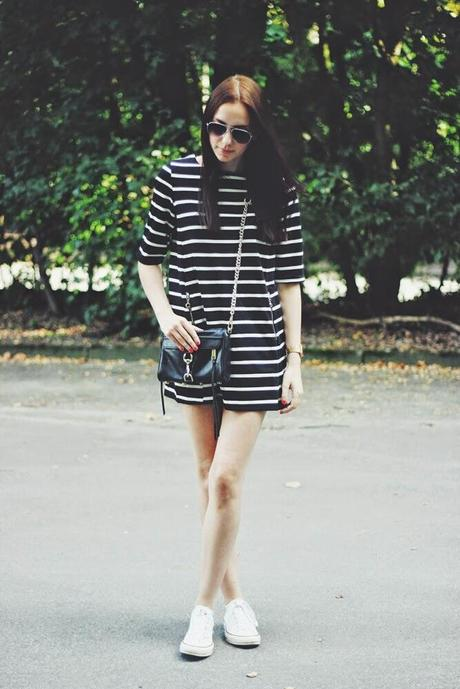 OOTD: Striped Dress