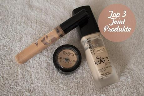 [Blogparade] Top 3 Teint Produkte