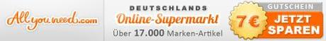 AllYouNeed.com - Deutschlands Online-Supermarkt