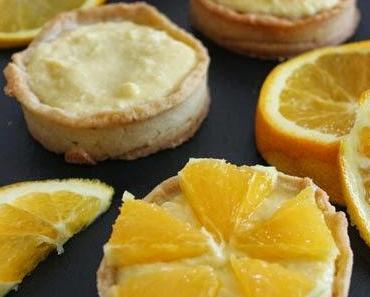 Köstliche Orangentarteletts von Aurélie Bastian